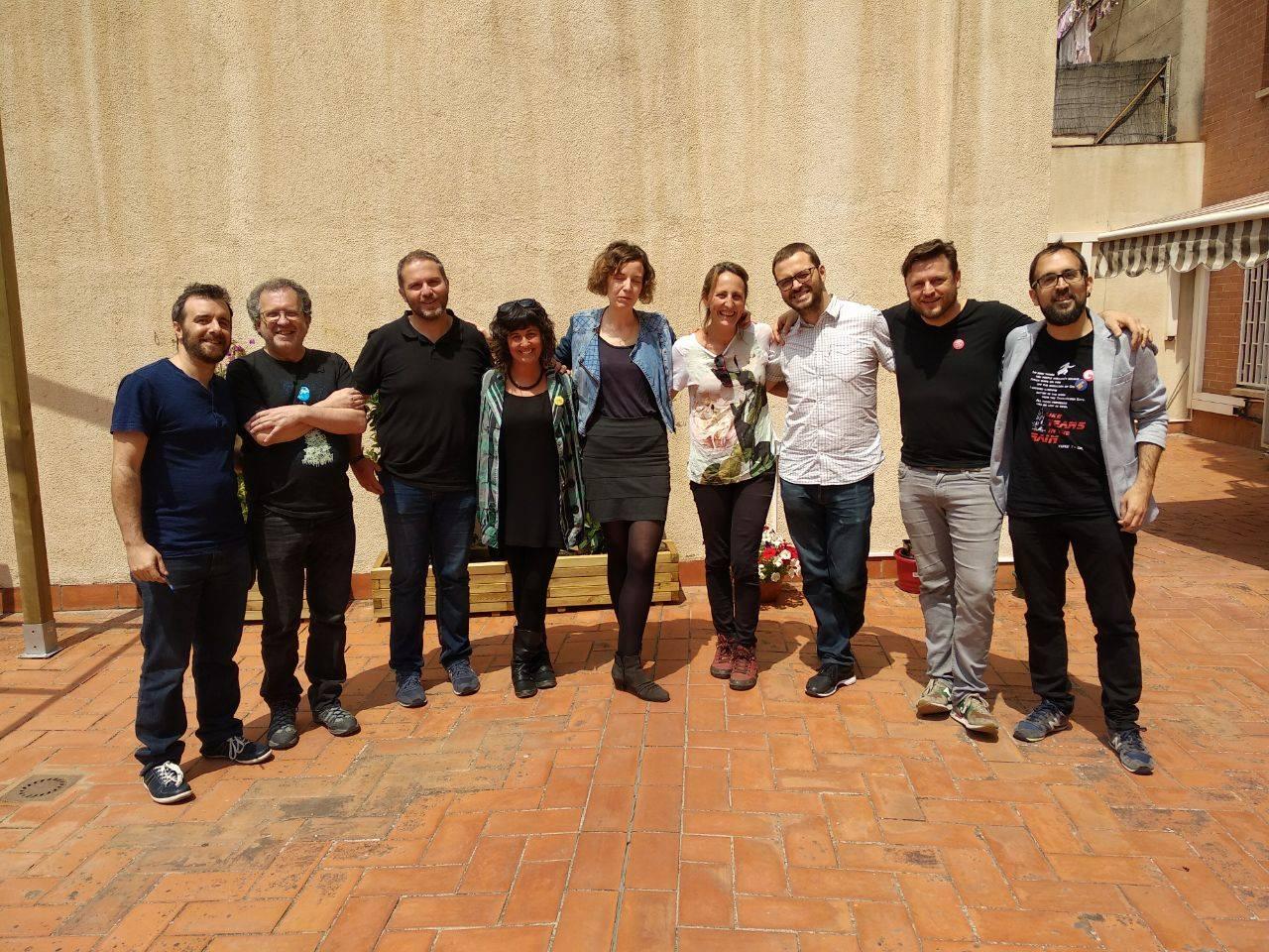 La gira de contactos municipalistas de Ganemos Jerez sigue su curso con la visita a Barcelona