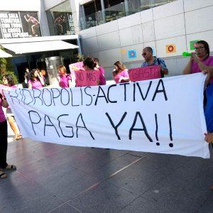 Ganemos Jerez respalda a las trabajadoras del Hidrópolis Spa en sus reivindicaciones laborales