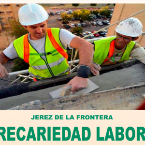 Programa de la jornada 'Jerez: precariedad laboral, ELAs y barriadas'