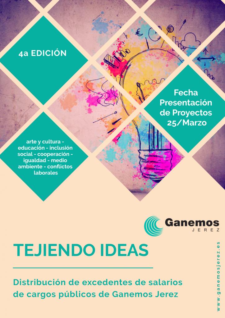 Cuarta convocatoria 'Tejiendo Ideas'