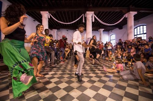 Primer Aniversario de la Red de Apoyo a Inmigrantes de Jerez, DimbaliFest